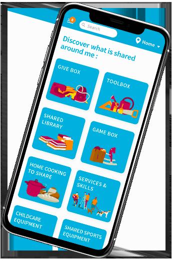 Sharing economy app